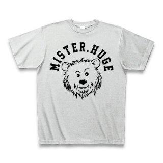 MR.HUGE COOL BEAR LOGO(クールベア)PRINTED Tシャツ アッシュグレー×ブラック