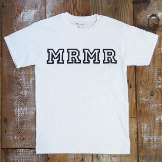 MR.HUGE champion W NAME MRMR HOWRING(チャンピオン ダブルネーム MRMRハウリング)PRINTED Tシャツ ホワイト