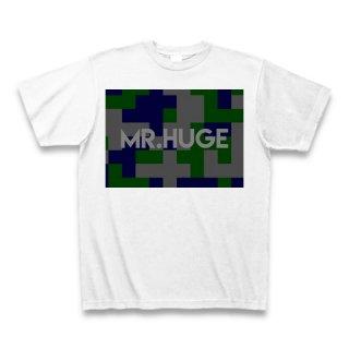 MR.HUGE DEGITAL CAMOFLAGE(デジタル 迷彩) PRINTED Tシャツ ホワイト