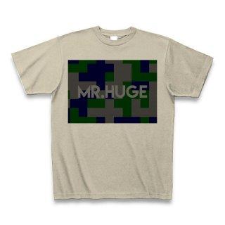 MR.HUGE DEGITAL CAMOFLAGE(デジタル 迷彩) PRINTED Tシャツ ベージュ