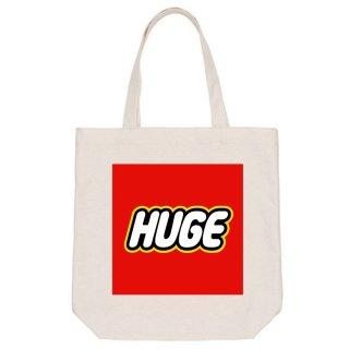MR.HUGE  BOX LOGO PRINTED CANVAS TOTE BAG(ボックス ロゴ プリント キャンバス トート バッグ)
