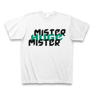 MR.HUGE MISTER&HUGE DEGITAL LOGO (ミスター&ヒュージ デジタル ロゴ)Tシャツ グリーン