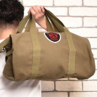 MR.HUGE WAPPEN DUFFLE SHOULDER BAG(ワッペン ダッフル ショルダー バッグ)カーキ