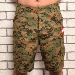 MR.HUGE 6POCKET CARGO SHORT PANTS(6ポケット カーゴ ショート パンツ )デジタルカモ カーキ