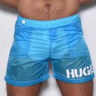 huge SKELTON SWIM BOXER PANTS(スケルトン スイム ボクサー)ブルー
