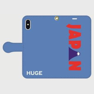 MR.HUGE WORLD TOUR(ワールド ツアー)PRINTED  手帳型 iPhoneCASE