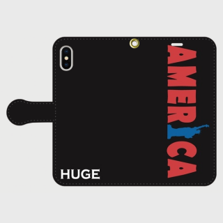 MR.HUGE WORLD TOUR(ワールド ツアー)PRINTED 手帳型 Android PhoneCASE