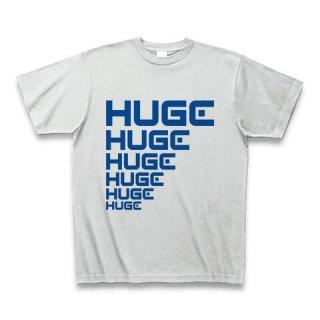 MR.HUGE LINE HUGE ROGO(ライン HUGE ロゴ)PRINTED Tシャツ アッシュ