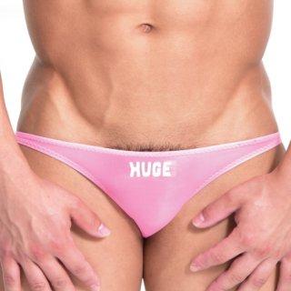 huge HUGE ROGO NYLON MINI O-BACK BIKINI(ロゴ ナイロン ミニ Oバック ビキニ)ピンク