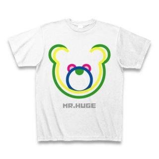 MR.HUGE DOUBLE LINE BEAR(ダブル ライン ベア)PRINTED Tシャツ グリーンライン