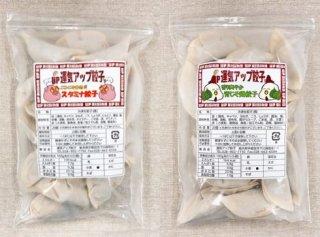 夏バテ防止セット(青じそ餃子・スタミナ餃子 20個入×2パック)