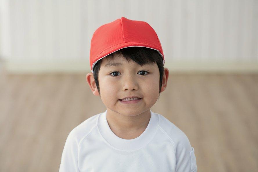 遮熱タイプ 紅白帽子