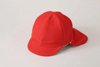 遮熱タイプ・フラップ付 紅白帽子