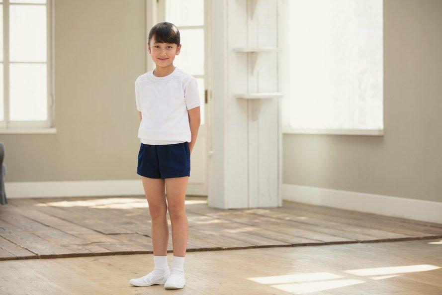 体操服 ズボン パンツ ショート丈(コン)[素材]ポリエステル100%||
