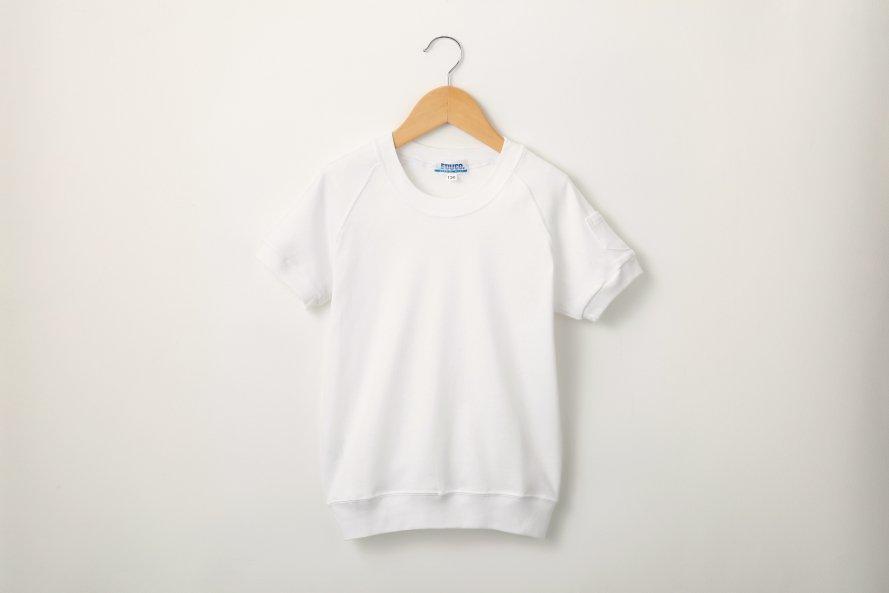 ニオイを防ぐ 半袖体操服 丸首タイプ[素材]綿100%||