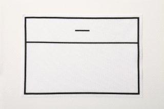 ストレッチゼッケン (大/13cm×19cm)【アイロン圧着ノリ付き】