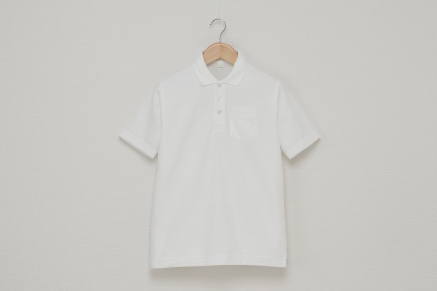 男児 半袖ポロシャツ (吸汗速乾・形態安定)