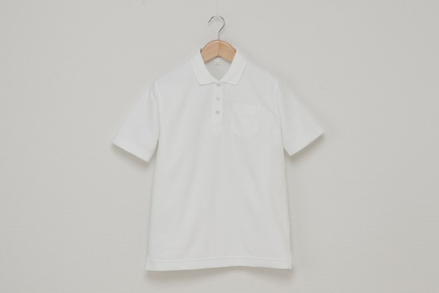 女児 半袖ポロシャツ (吸汗速乾・形態安定)