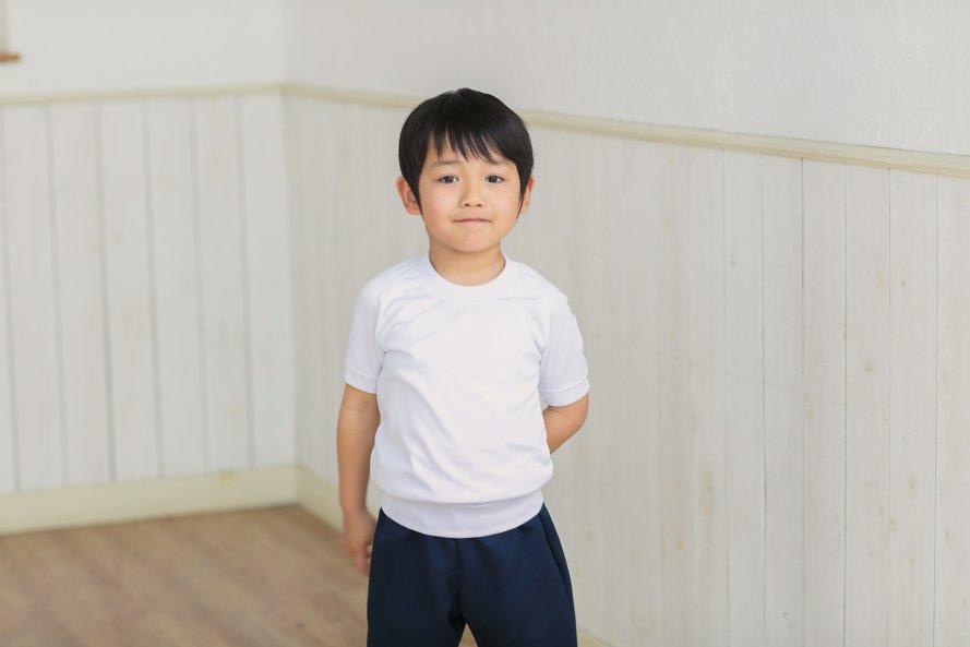 汚れにくい 半袖体操服 丸首タイプ[素材]ポリエステル90%|綿10%|
