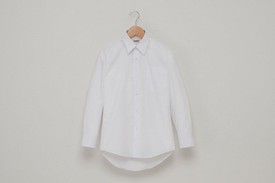 男児 長袖ワイシャツ (形態安定加工)