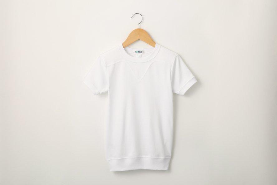 乾きやすい 半袖体操服 切替(ヨーク)タイプ[素材]綿60%|ポリエステル40%|