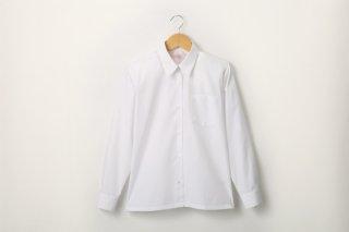 女児 長袖ワイシャツ (形態安定加工)