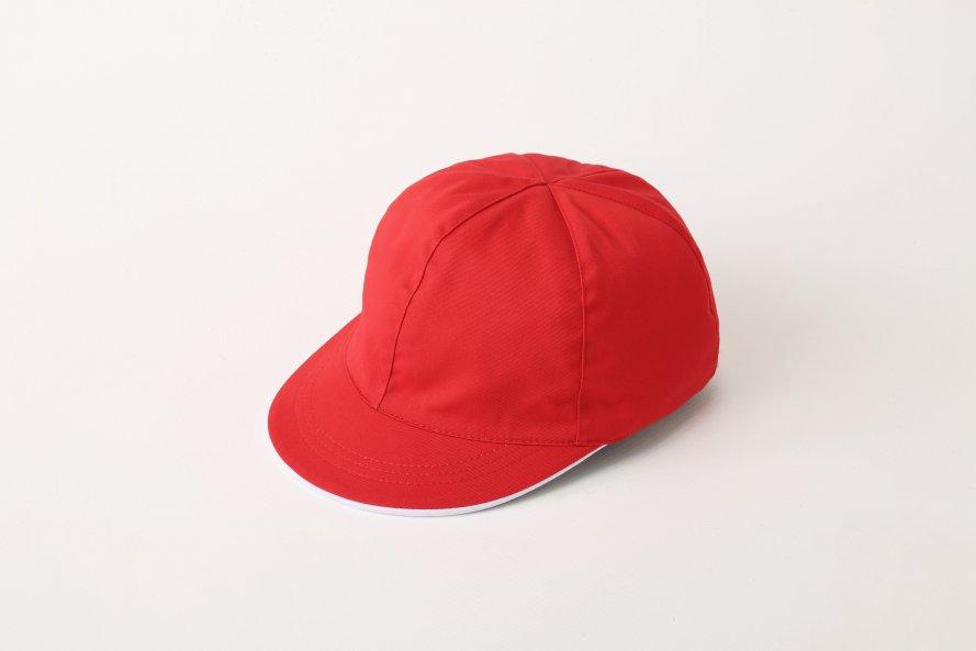 綿100%紅白帽子(男女兼用)[素材]綿100%||