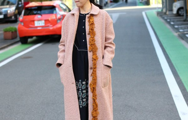forest paradeコート〈pink〉