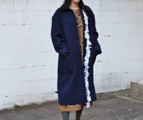 forest paradeコート〈navy〉