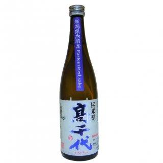【�千代】新潟限定Pasteurized sake 純米酒 720