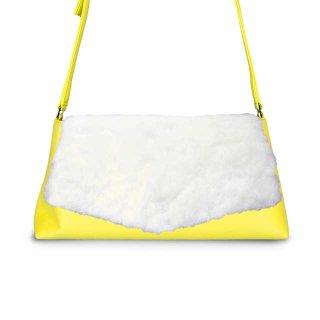 着せ替えショルダーバッグ「CHIPS」Marshmallow (FLAP) × Grapefruits(BASE)  限定色モデル
