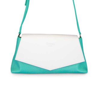 着せ替えショルダーバッグ「CHIPS」Milk (FLAP) × Appletini (BASE)  限定色モデル