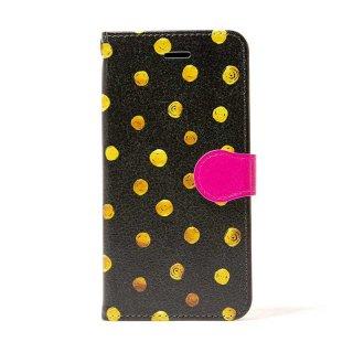 「Gold Dot」 | 手帳型iPhoneケース | Plan bシリーズ