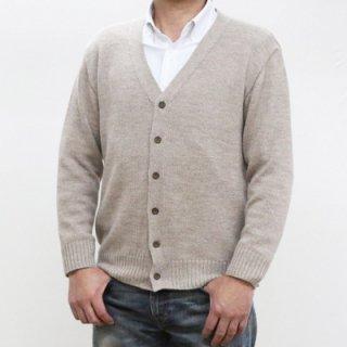 メンズ スーパーベビーアルパカ ベーシックセーター(クルーネック) 全1色
