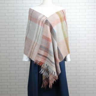 ベビーアルパカ 【一点物】 手織りショール K19-01