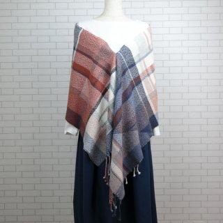 ベビーアルパカ 【一点物】 手織りショール K19-04