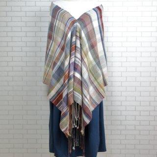 ベビーアルパカ 【一点物】 手織りショール K19-05