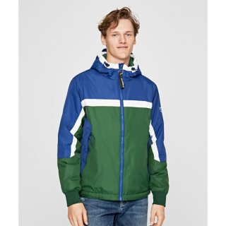 LEONARDO COLOR BLOCK WINDBREAKER