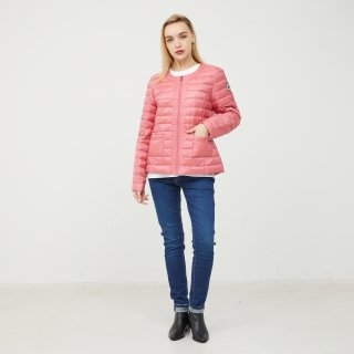 LADY'S JACKET 1900-DOUDA | ROSE vif/BEIGE
