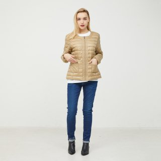 LADY'S JACKET 1900-DOUDA-1 | BEIGE