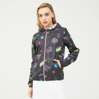 LADY'S JACKET 2909-NOEMIE | MARINE/BANDE REFLECT