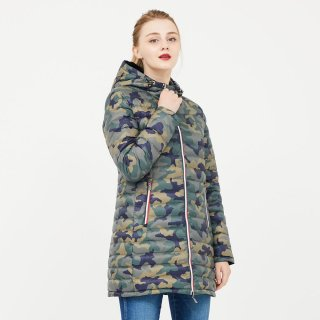 LADY'S JACKET 3902-ADELAIDE|NOIR/MILITAIRE