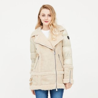 LADY'S JACKET 3924-NIL|CAMEL