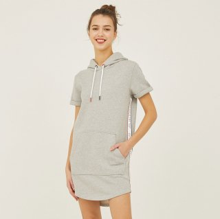 LADY'S S/S PARKA 4926-MERIDA|GRIS CHINE