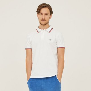 MEN'S S/S POLO 4918-PALAVAS | BLANC