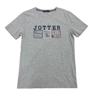 MEN'S T-SHIRT 4934-PORT |  GRIS CHINE/JOTTER