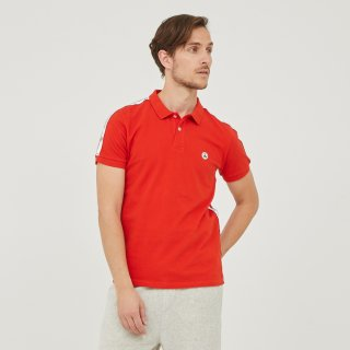 MEN'S S/S POLO 4921-CHERBOURG | ROUGE