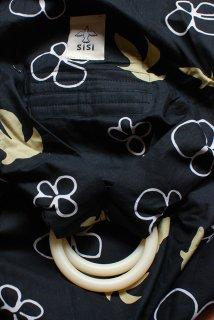 SS-DMBB スリング単品『鳥と花(黒)』