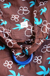 SS-DMBC スリング単品『鳥と花(茶)』