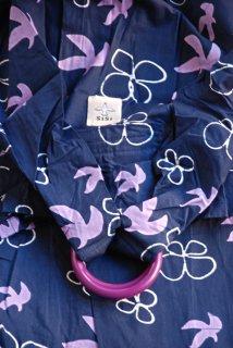 SS-DMBU スリング単品『鳥と花(紺)』